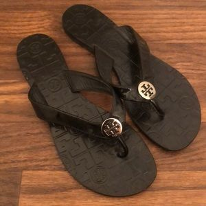 Tory Burch Thora Sandals Black size 7
